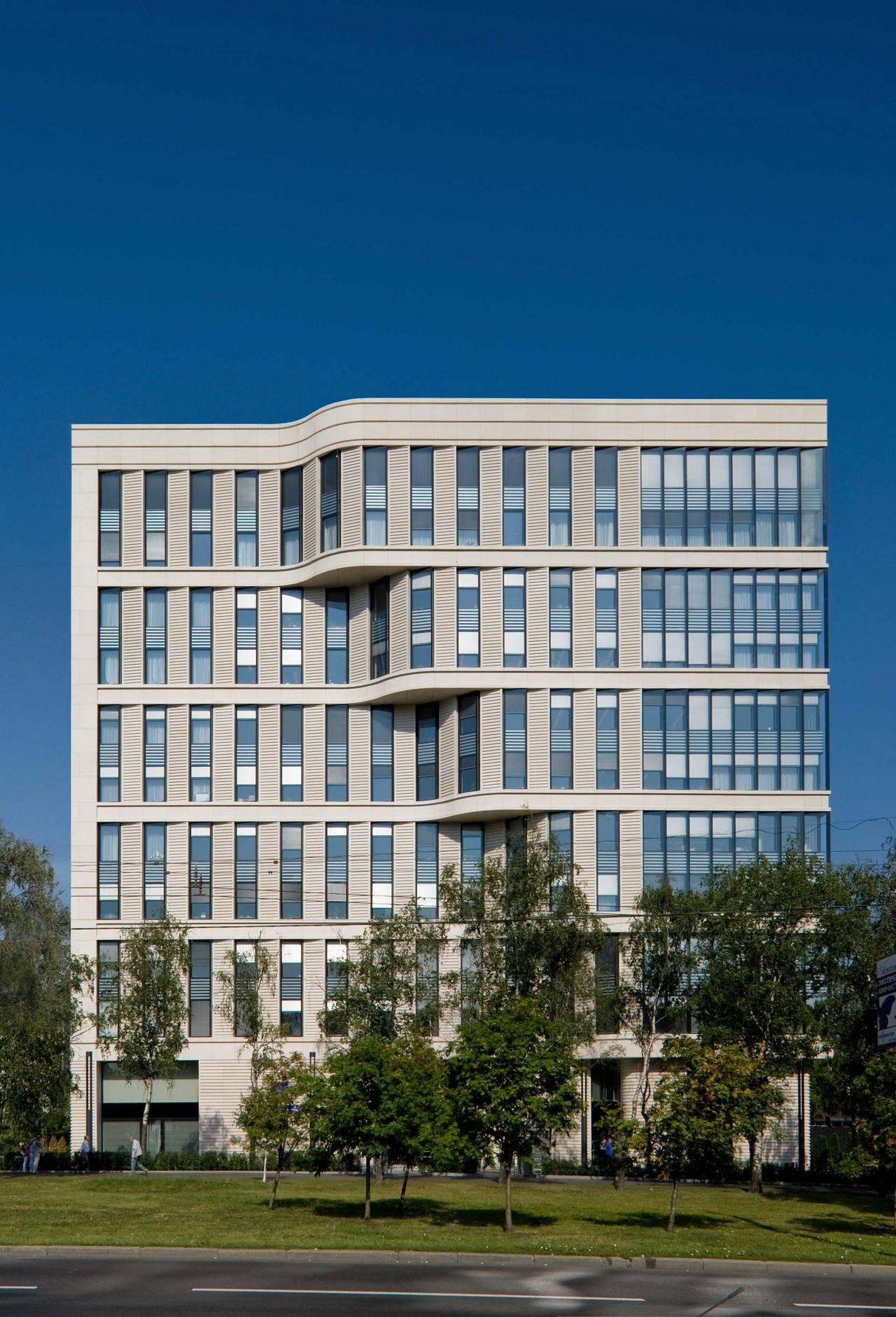 Office Building On Leninsky / Sergey Tchoban + Sergey Kuznetsov, Courtesy of Sergey Tchoban & Sergey Kuznetsov