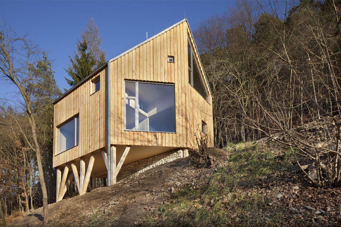 Family House In Zbecno / A.LT Architekti, © Tomas Rasl