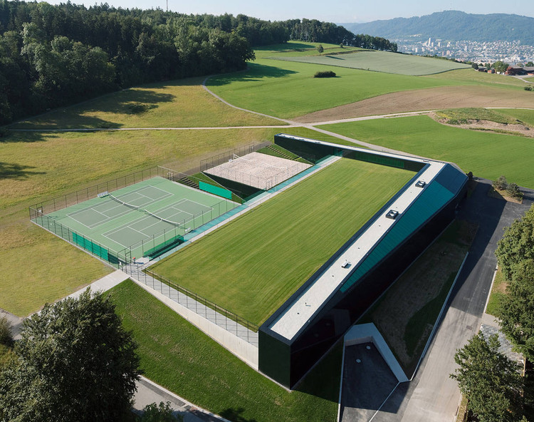 Sport Center ETH Honggerberg / Dietrich | Untertrifaller Architekten, © Bruno Klomfar