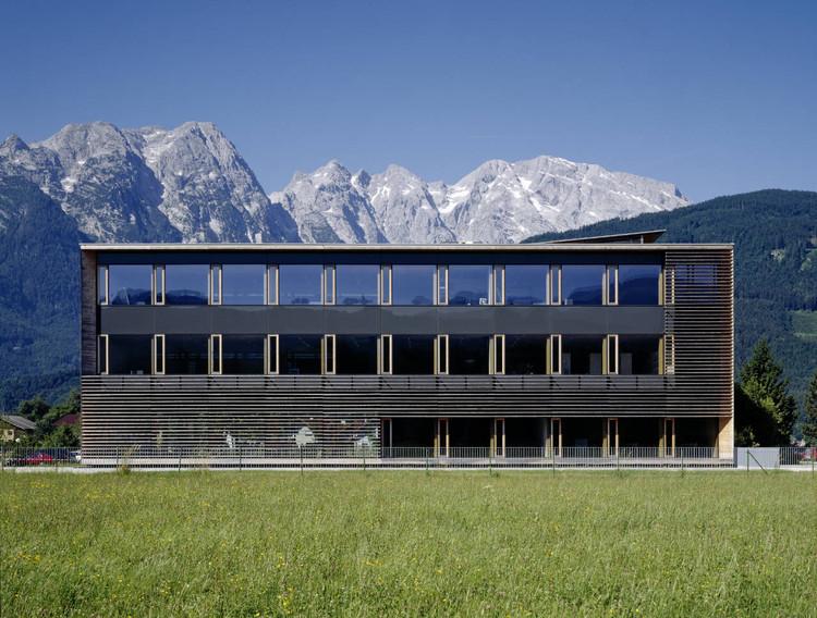 Fachhoch schule Salzburg / Dietrich | Untertrifaller Architekten, © Bruno Klomfar