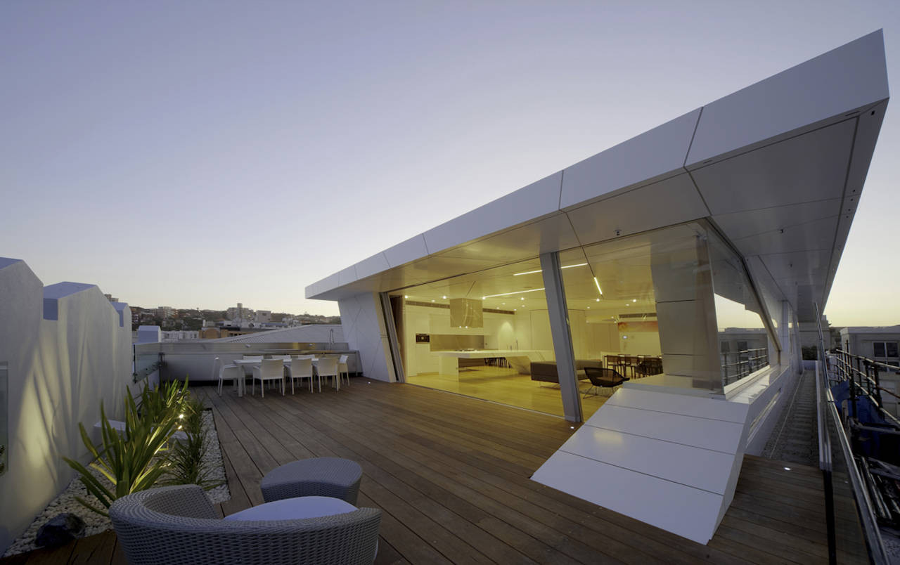 Penthouse Design bondi penthouse / mpr design group | archdaily