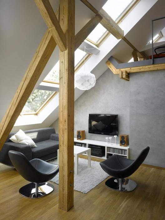 Small Loft Apartment mini-loft apartment in prague / dalibor hlavacek | archdaily