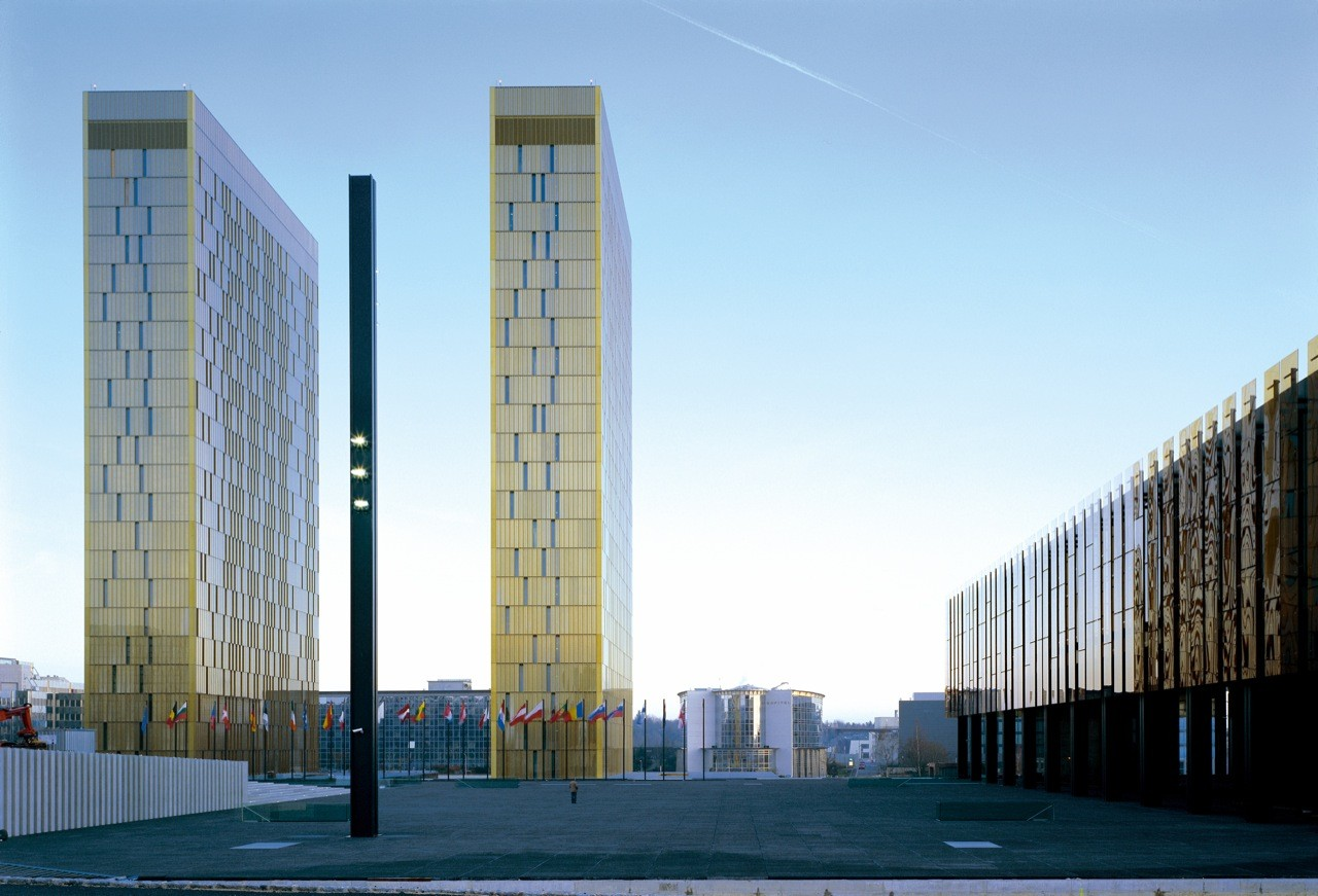 Court of Justice of the European Communities / Dominique Perrault, © Georges Fessy