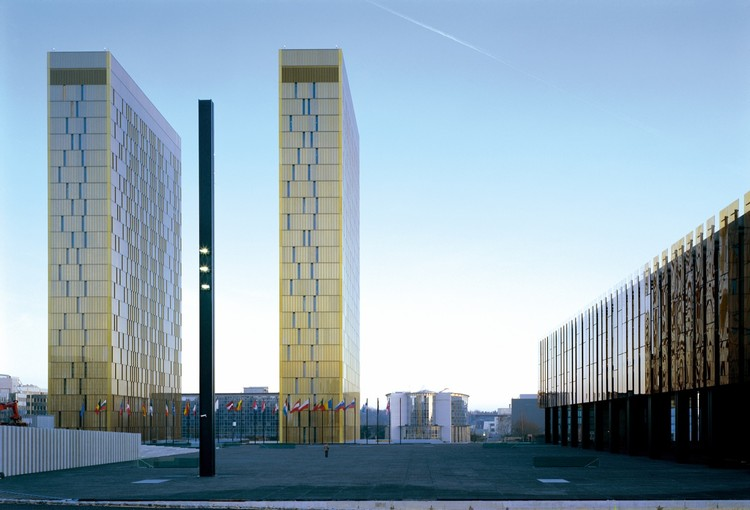 Court of Justice of the European Communities / Dominique Perrault Architecture, © Georges Fessy