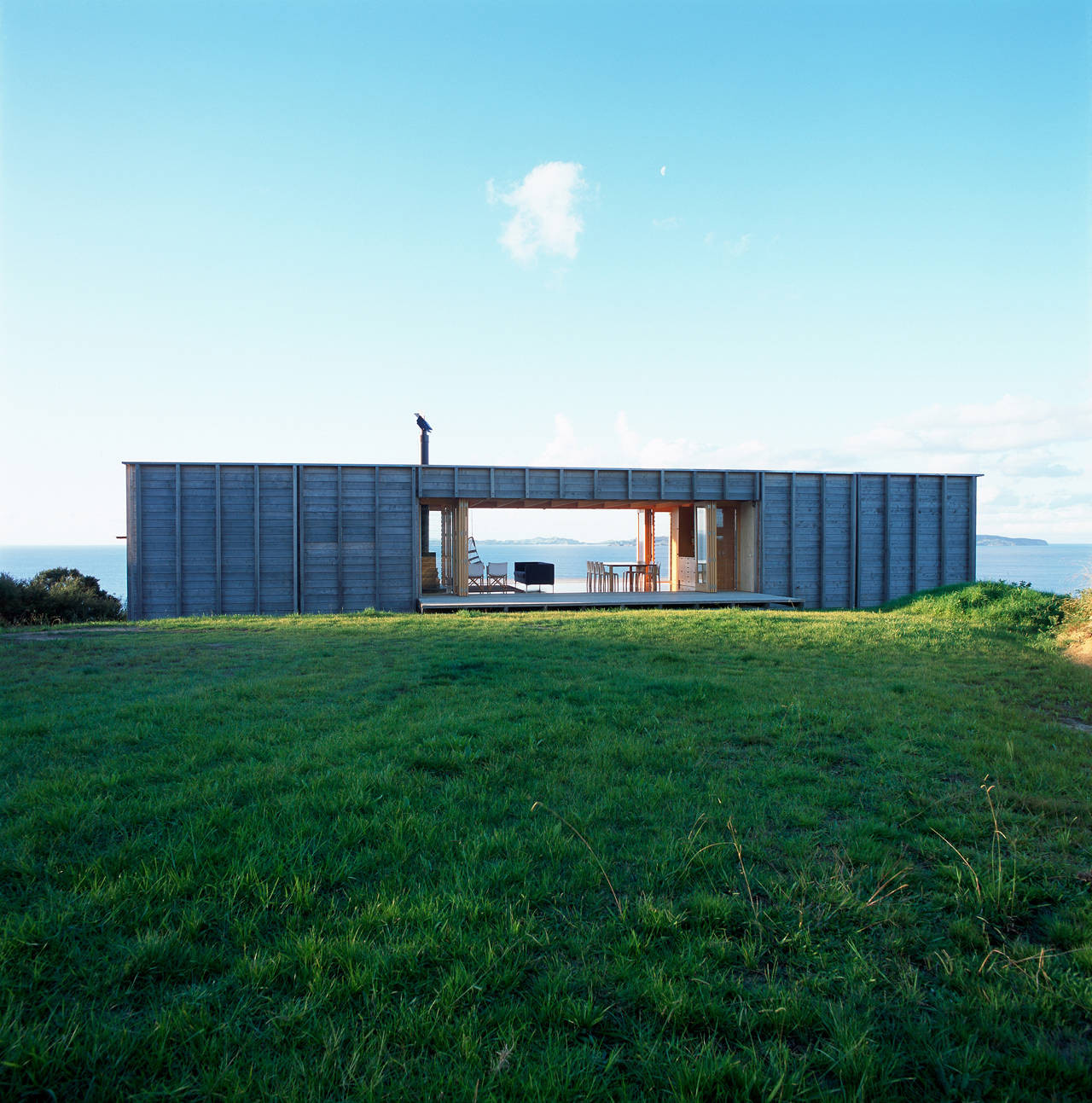 Coromandel Bach / Crosson Clarke Carnachan Architects, © Patrick Reynolds