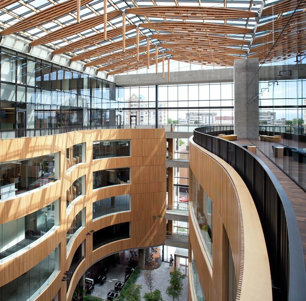 The Atrium D Ambrosio Architecture Amp Urbanism Archdaily