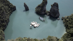 Archipelago Cinema / Buro Ole Scheeren + Film on the​ Rocks Yao Noi Foundation