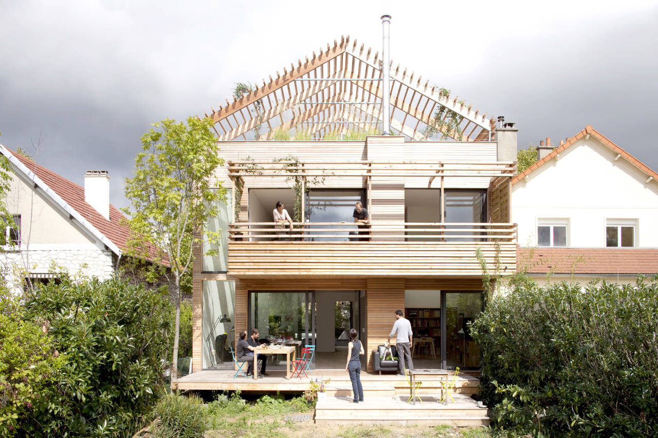 Eco sustainable house djuric tardio architectes archdaily for Green home designs