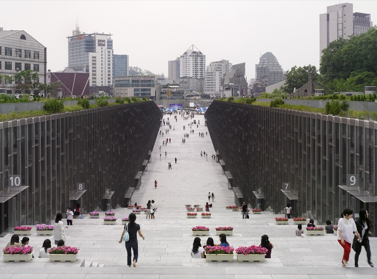 Ewha Womans University / Dominique Perrault Architecture, © André Morin