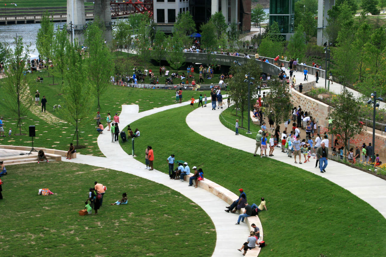 Gallery Of Cumberland Park Hargreaves Associates 3