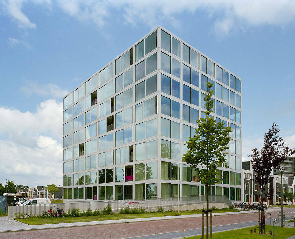 Atriumtower Hiphouse Zwolle Atelier Kempe Thill Archdaily