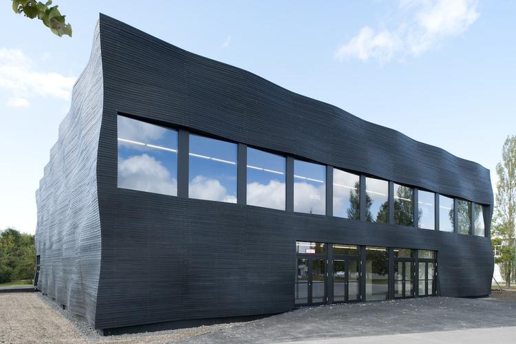 Interims Audimax / Deubzer Konig & Rimmel Architekten, © Henning Köpke Fotografie