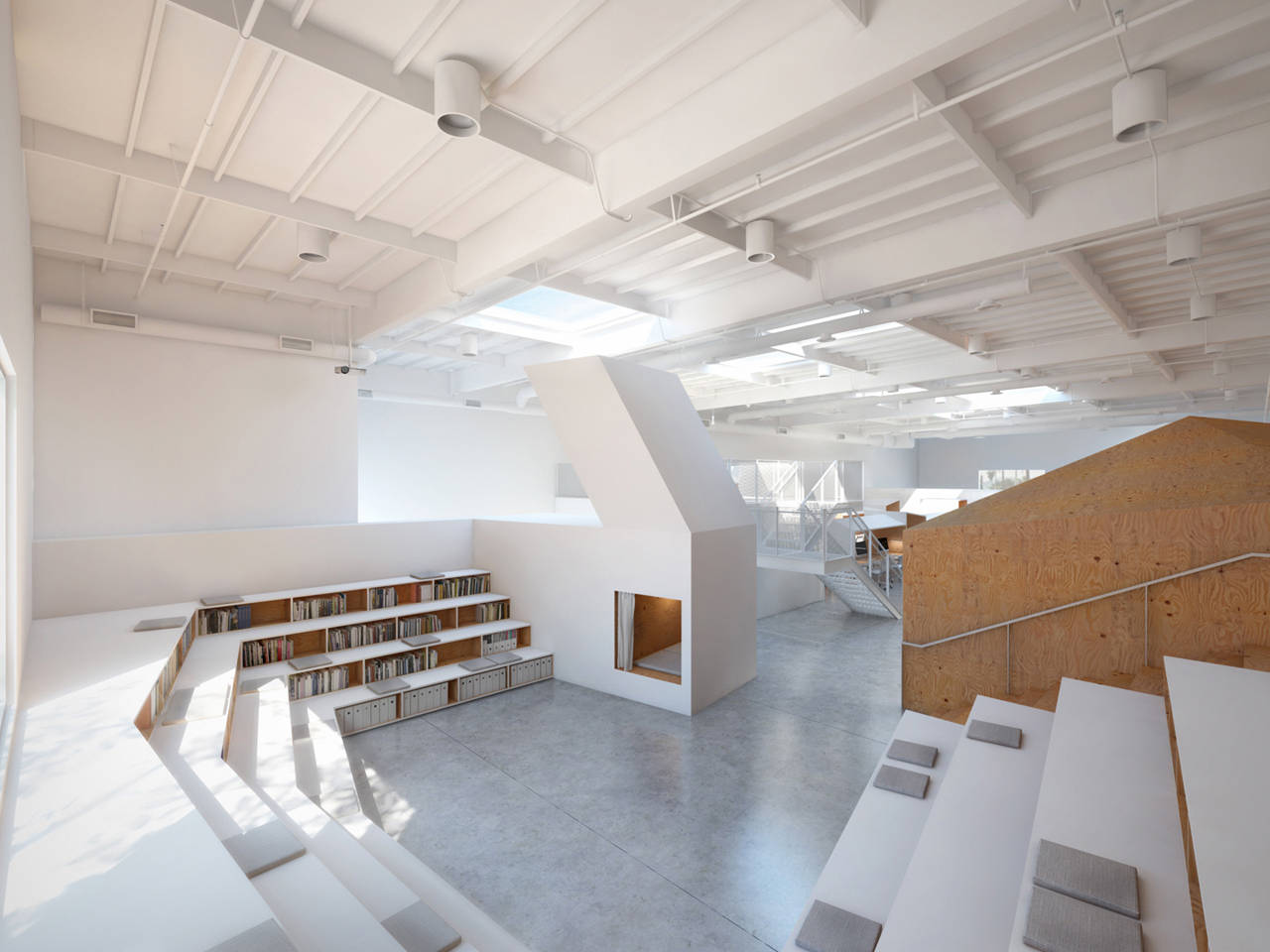 hybrid office edward ogosta architecture archdaily