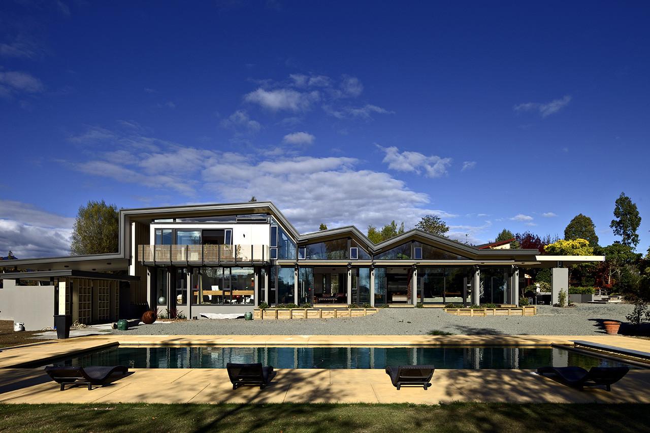 Mountain Range House / Irving Smith Jack Architects, © Patrick Reynolds