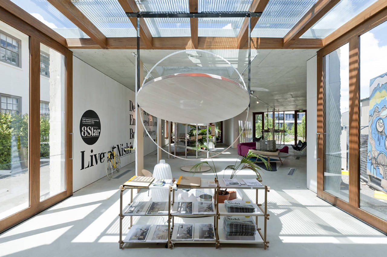 Nishi Sales Suite and Gallery / hungerford+edmunds + OCULUS, © Nic Bailey