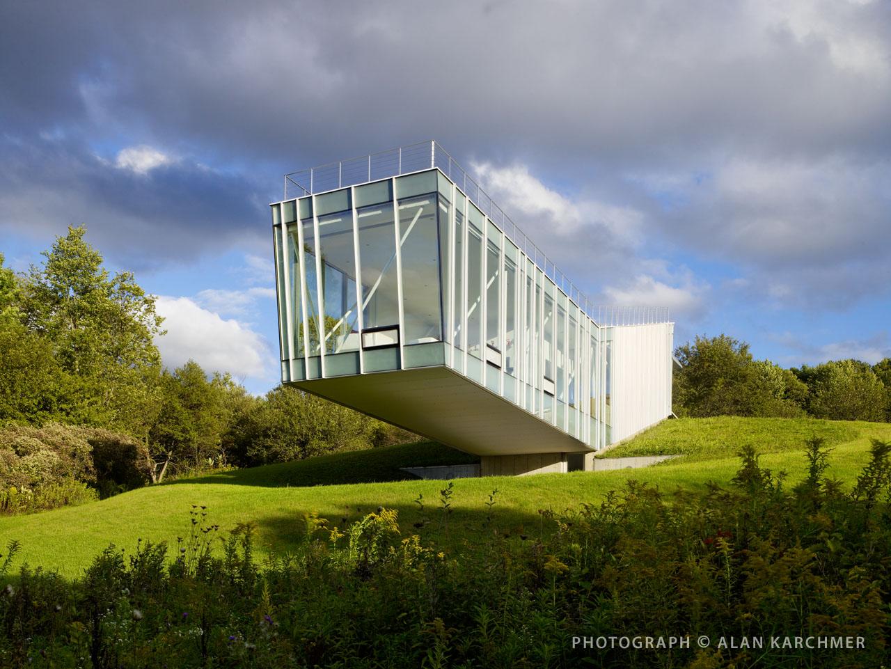 House at Tanglewood / Schwartz/Silver Architects, © Alan Karchmer/Sandra Benedum