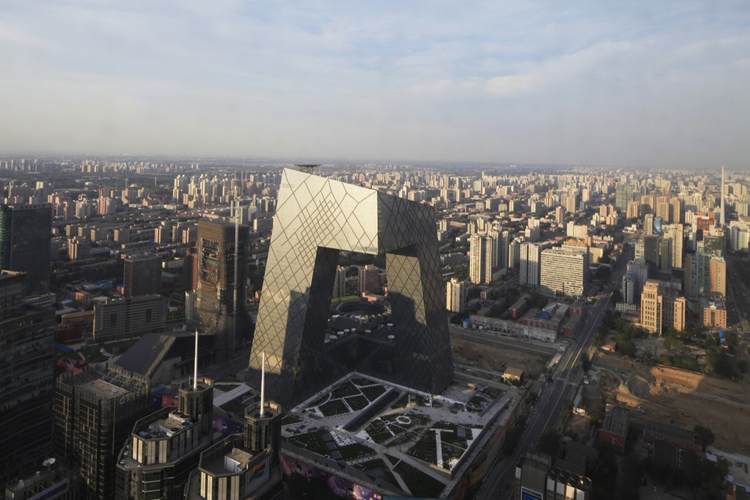 CCTV Headquarters / OMA, Courtesy of OMA