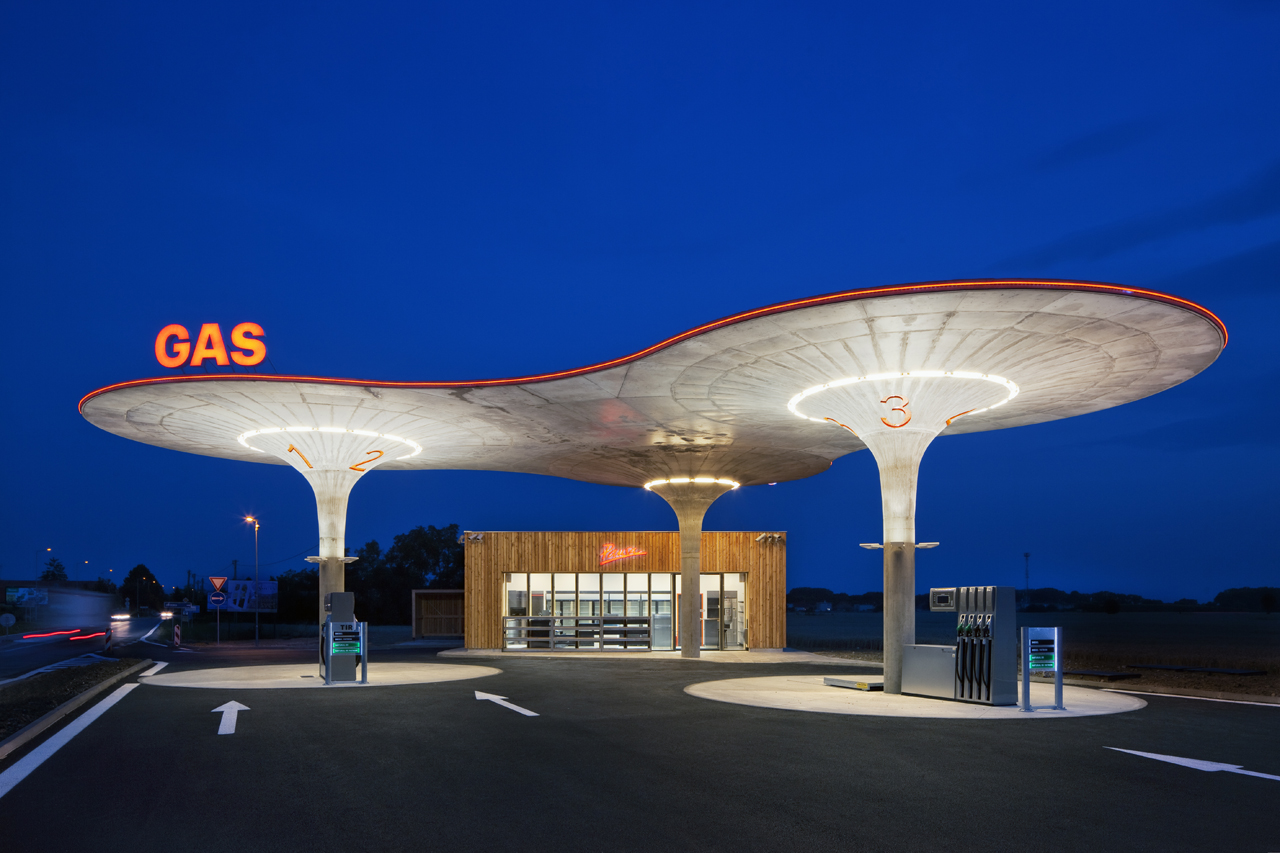 Gas Station Atelier Sad Archdaily