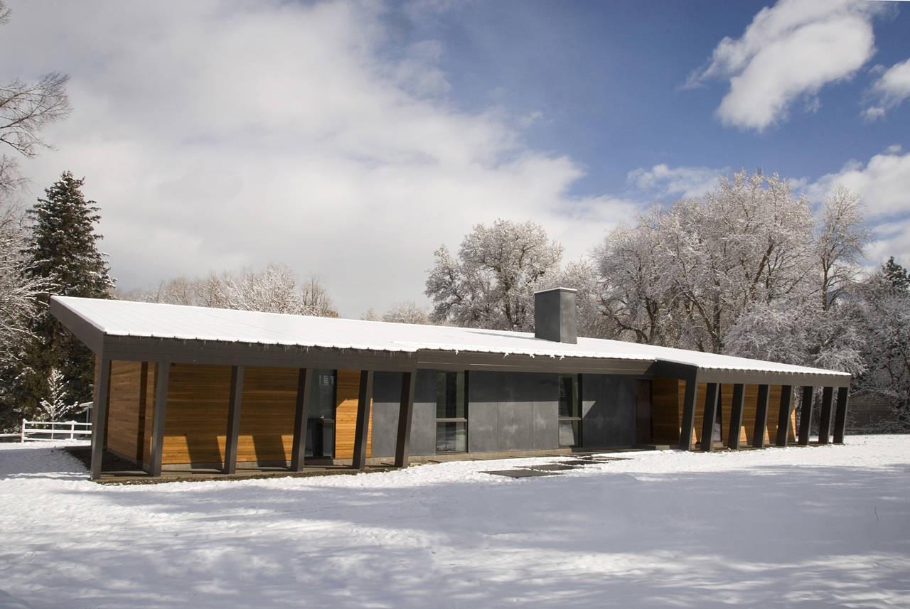Pasture project imbue design archdaily - Maison pasture par imbue design ...
