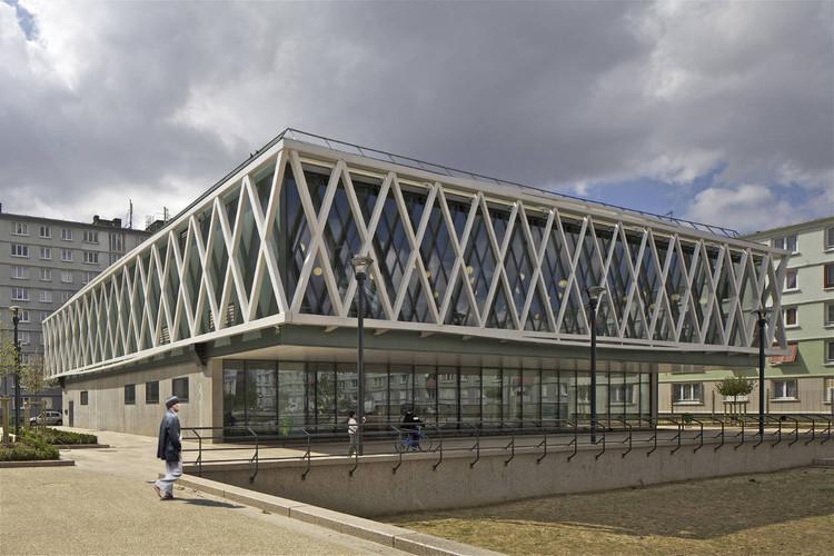 Romainville Multimedia Library / Philippe Gazeau, © Philippe Ruault