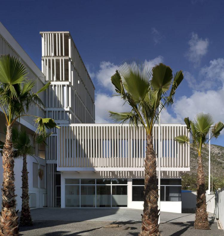 New civil guard barracks house in oropesa del mar - David frutos ...