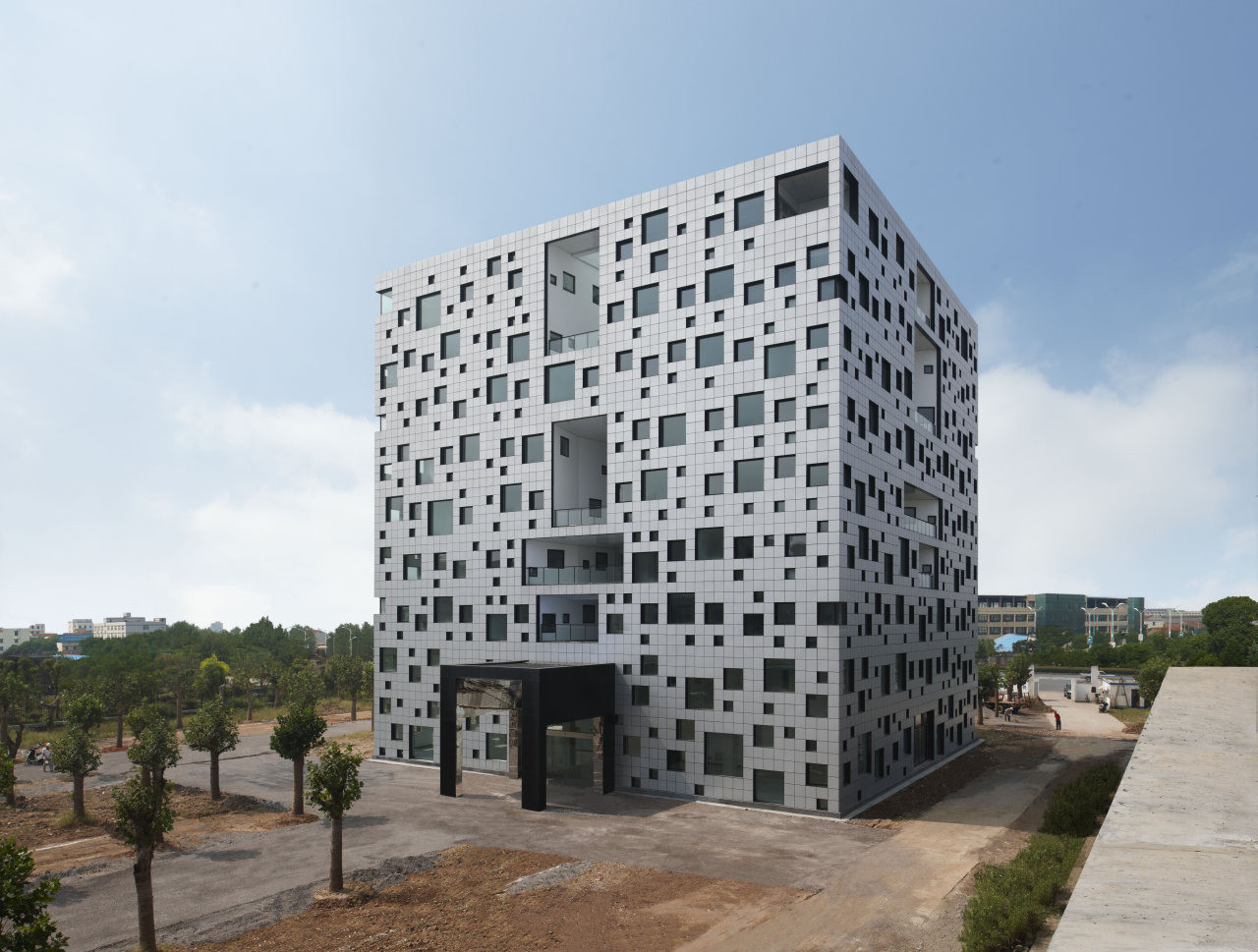 Cube Tube In Jinhua Sako Architects Archdaily