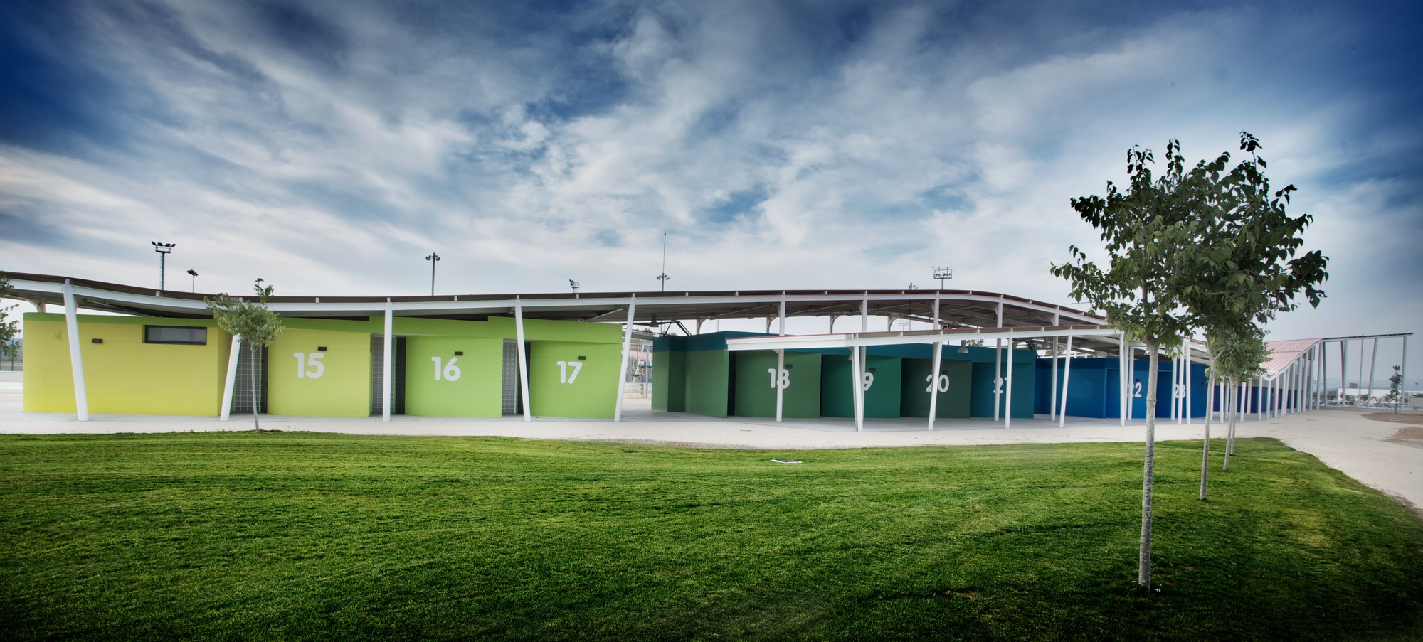 Sport City in Xativa / ACXT, Courtesy of ACXT