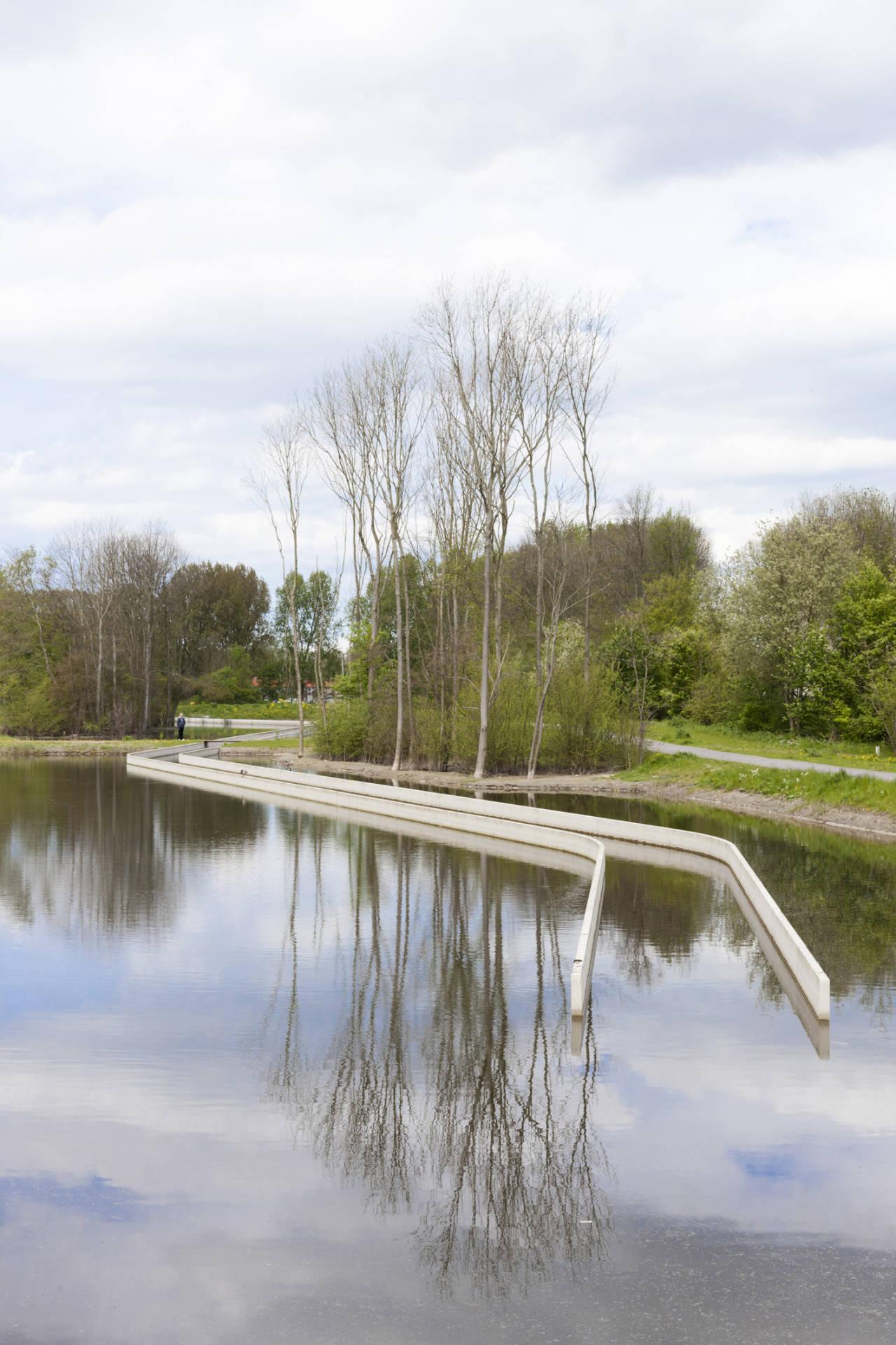 Disappeared Stream Back in Wijkeroogpark / Bureau B&B, © Bastiaan Kwast