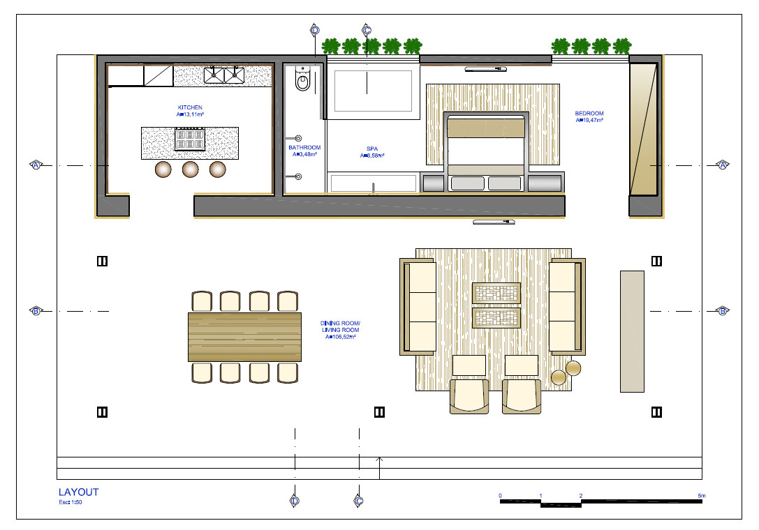 Gallery of loft bauhaus ana paula barros 23 for Casa moderna minimalista interior 6m x 12 50 m