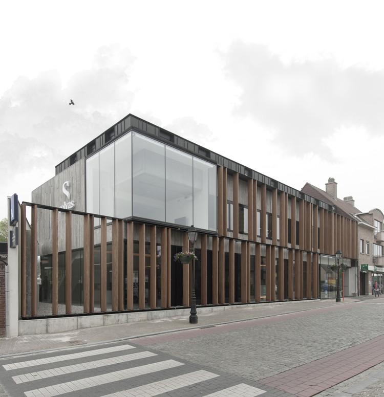 Office Solvas / GRAUX & BAEYENS architecten, © Luc Roymans