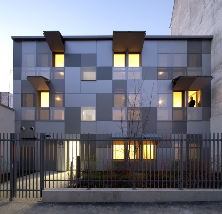 10 Logements Paris / RMDM Architectes, Courtesy of  rmdm architectes