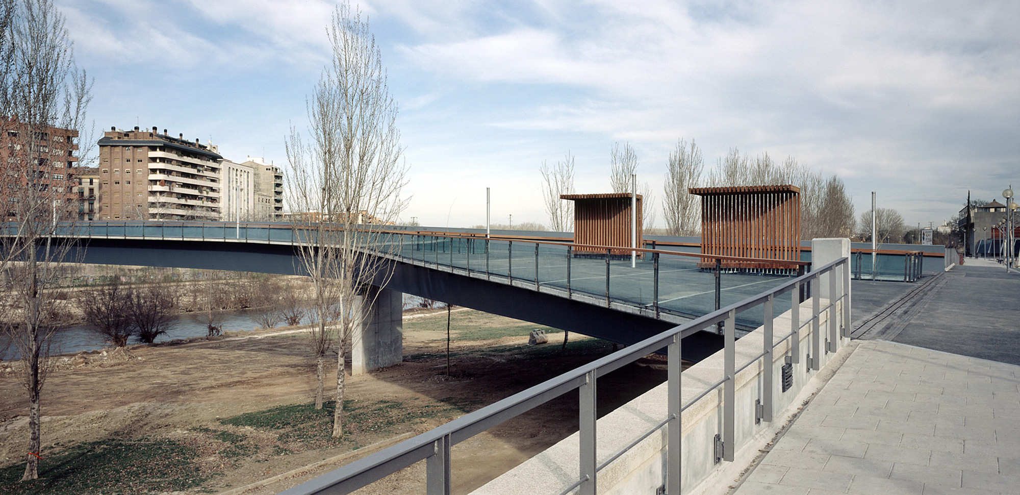 Footbridge over the River Segre / Ravetllat Ribas Architects