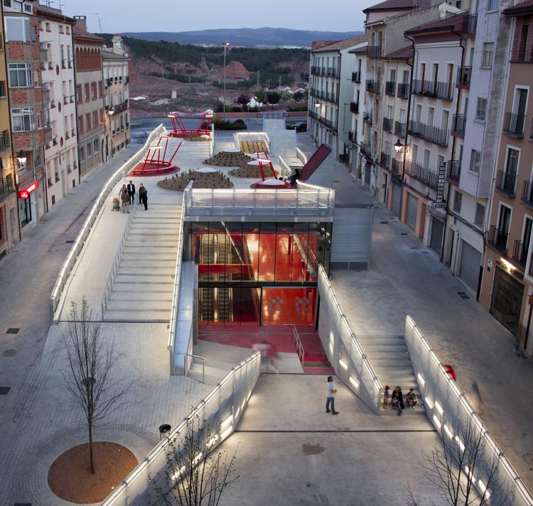 Teruel-zilla / Mi5 Arquitectos + PKMN [pacman], © Miguel  de Guzmán