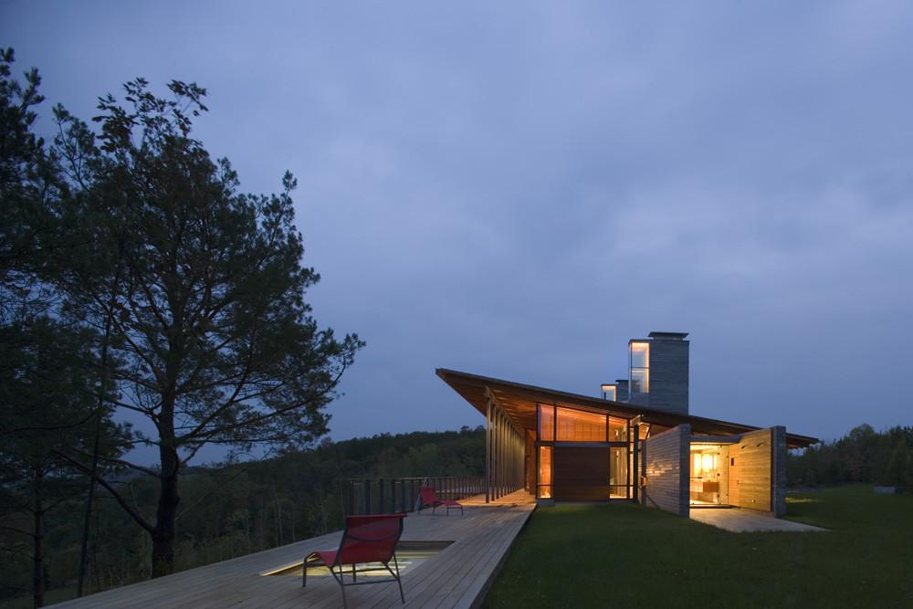 ridge house bohlin cywinski jackson archdaily