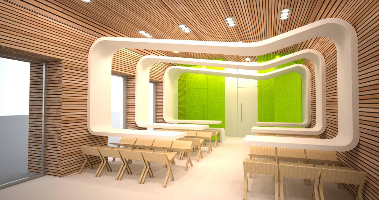 It Me Eco Fast Restaurant Joanna Pszczolka Lukasz Brandys Archdaily