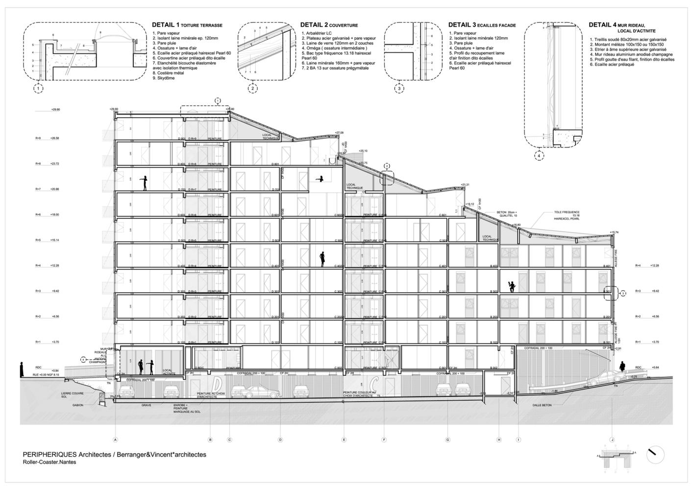 Gallery Of Roller Coaster Peripheriques Architectes 36