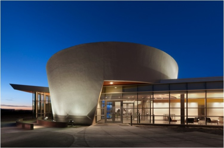 Diné College Library / DLR Group, ©  Courtesy of DLR Group
