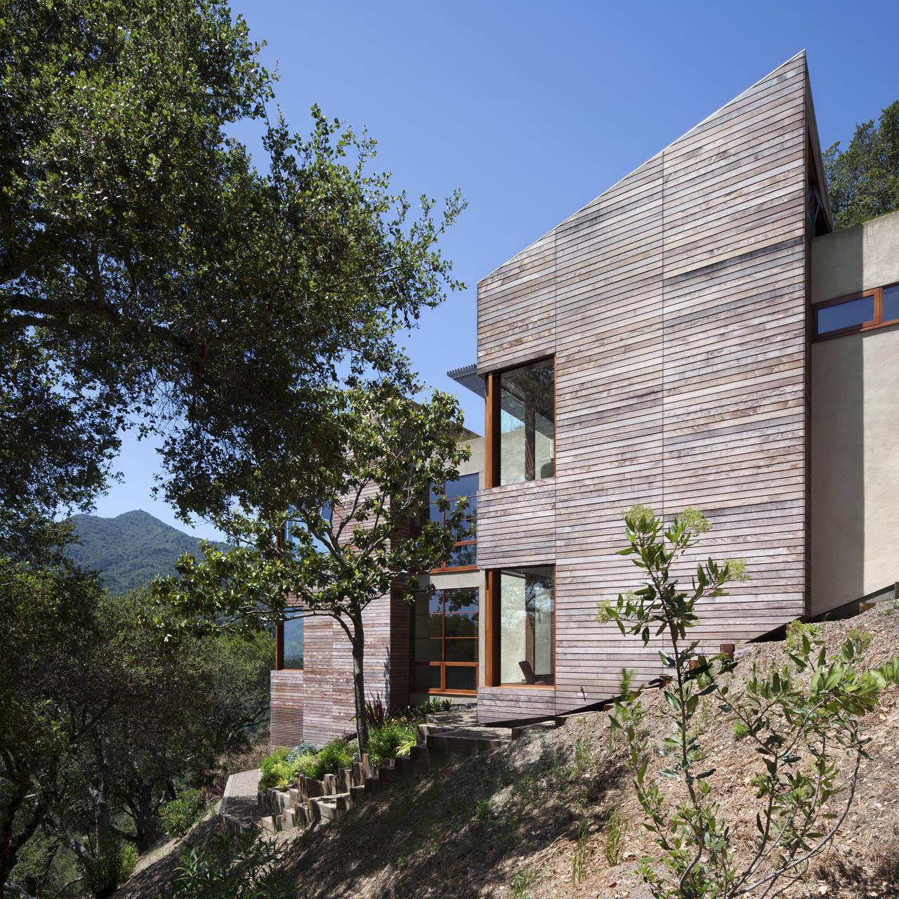 Gallery of kentfield hillside residence turnbull griffin for Hillside architecture