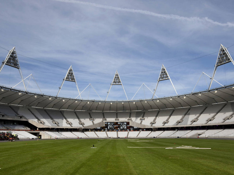 London Olympic Stadium / Populous, © Unknown photographer