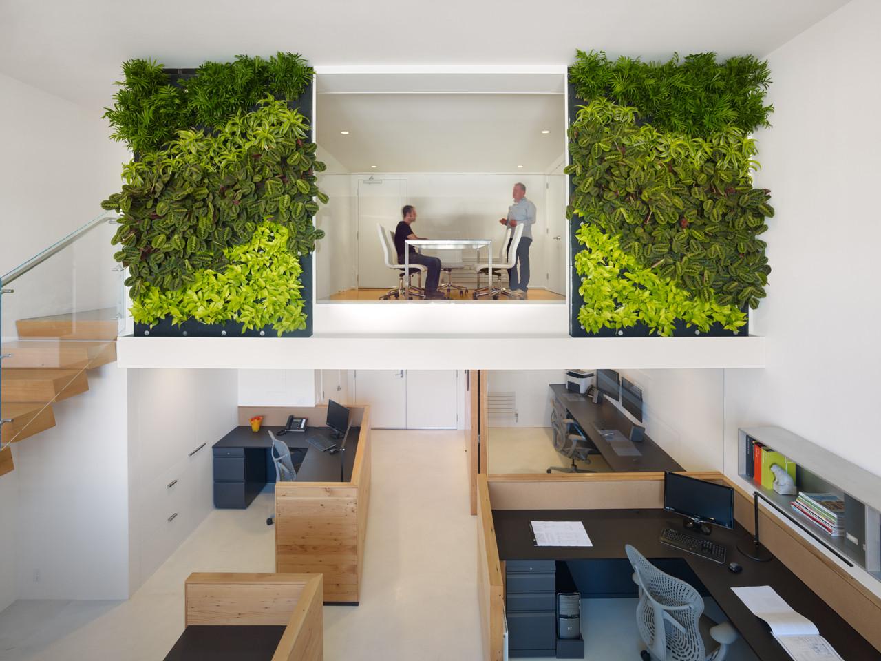 The Offices of Buck O'Neill Builders / Jones | Haydu, © Bruce Damonte