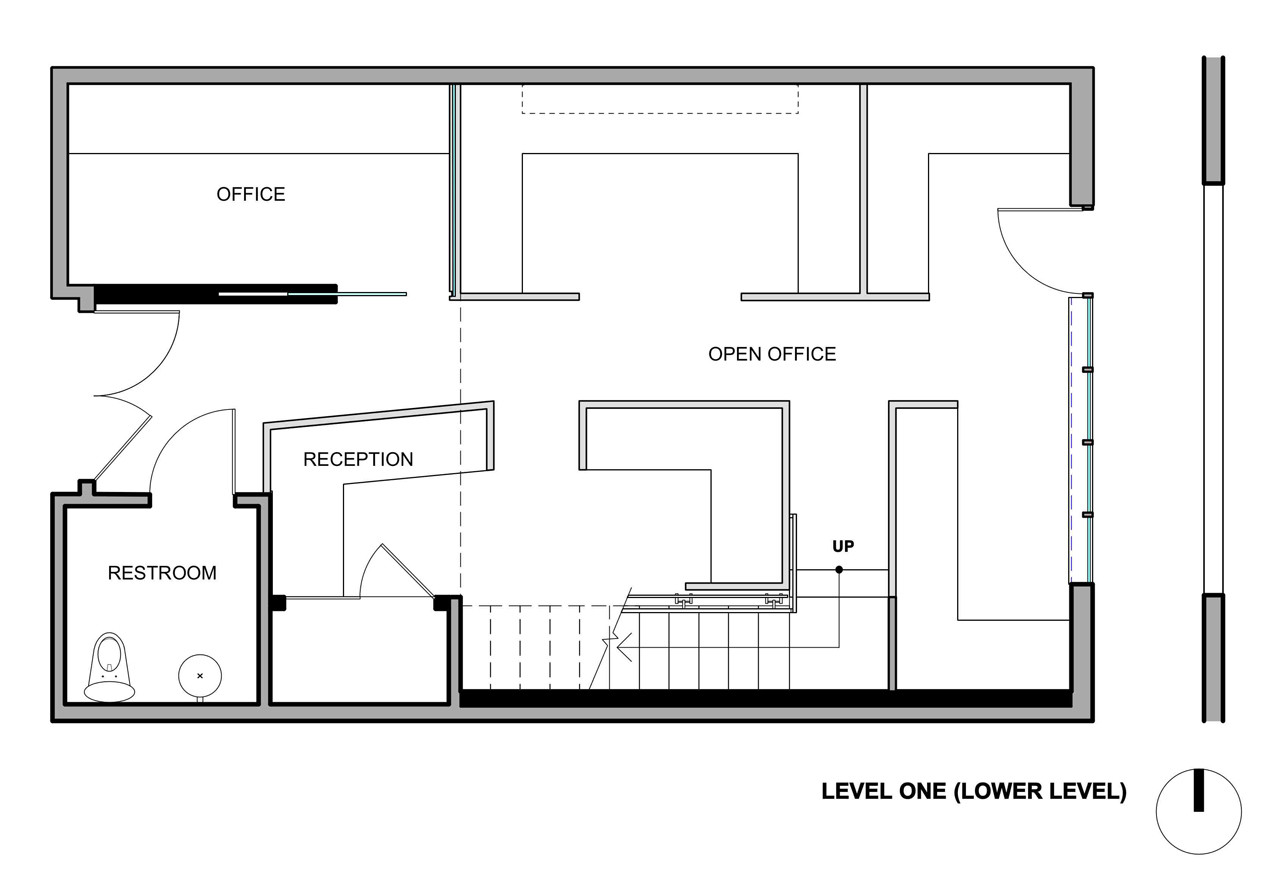 Gallery of the offices of buck o neill builders jones for Office design drawing samples
