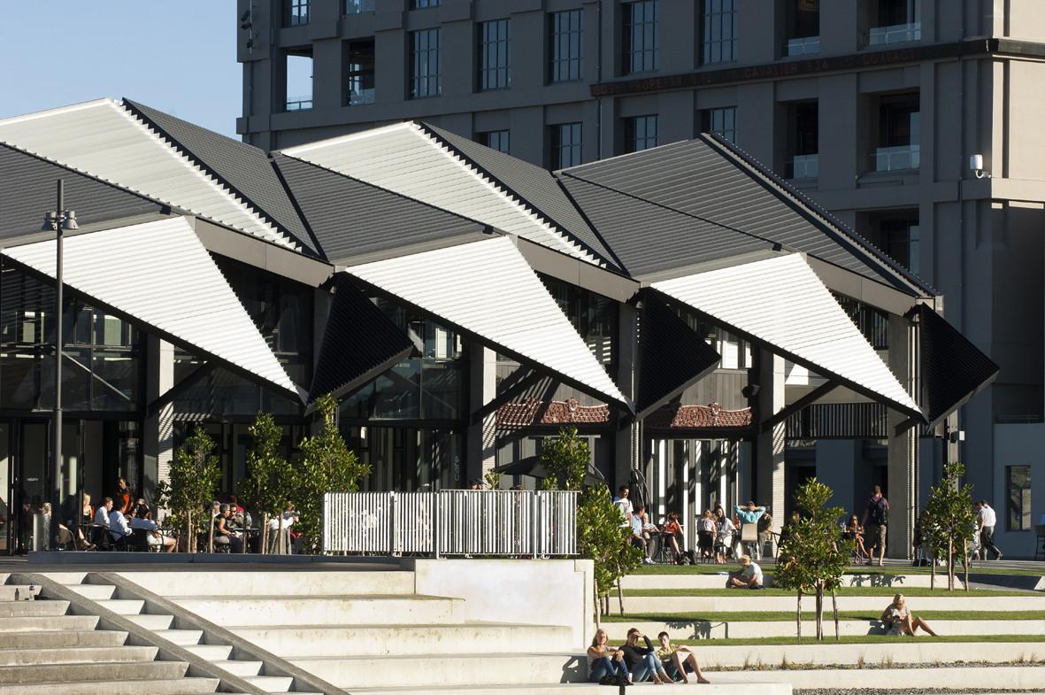 Te Wharewaka / architecture +, Courtesy of  architecture +