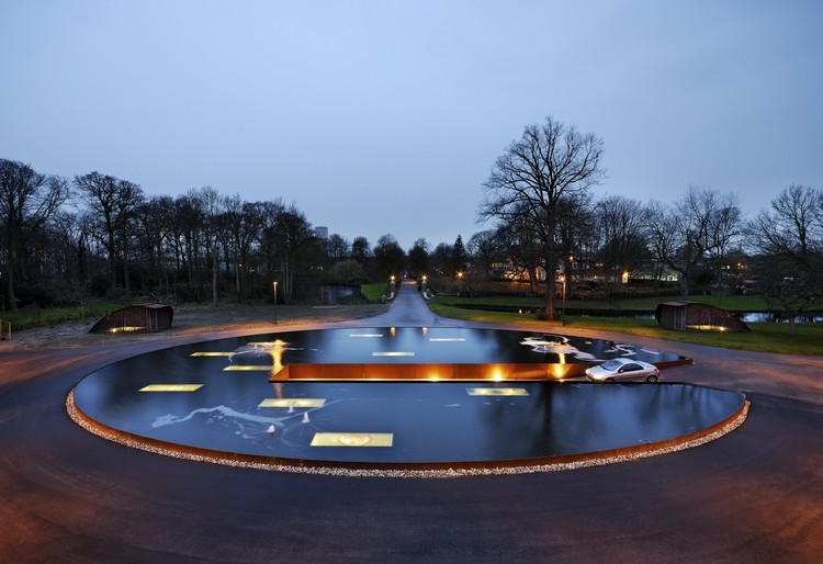 Ornamental pond hosper archdaily for Ornamental pond