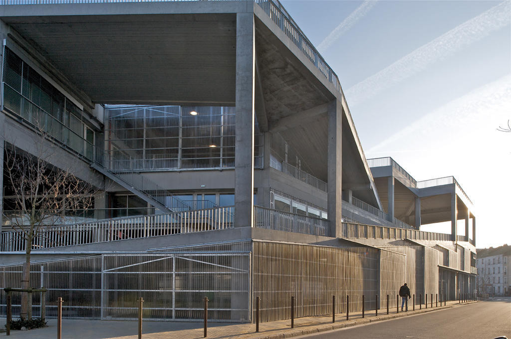 Nantes school of architecture lacaton vassal archdaily for Architecture nantes