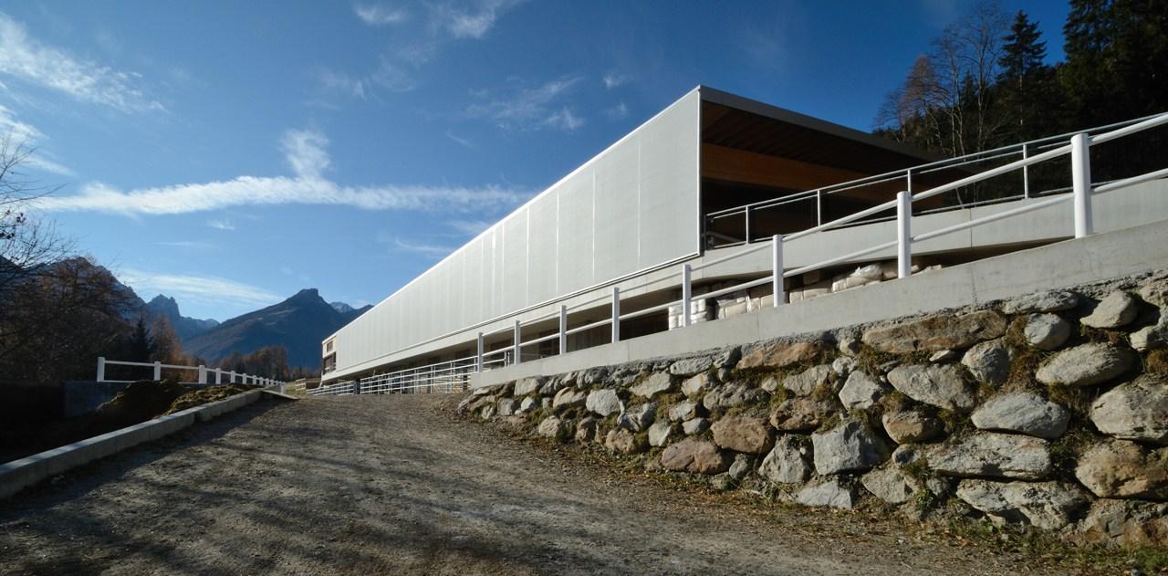 Reitarena Stubai / AO Architekten, © Peter Fiby