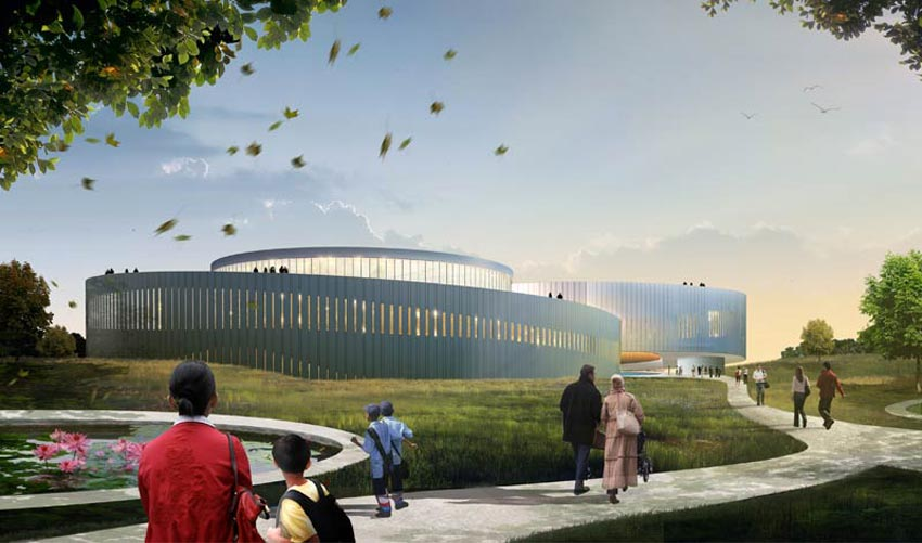 In Progress: Samaranch Memorial Museum / Archiland Beijing + HAO (Holm Architecture Office), Courtesy of HAO
