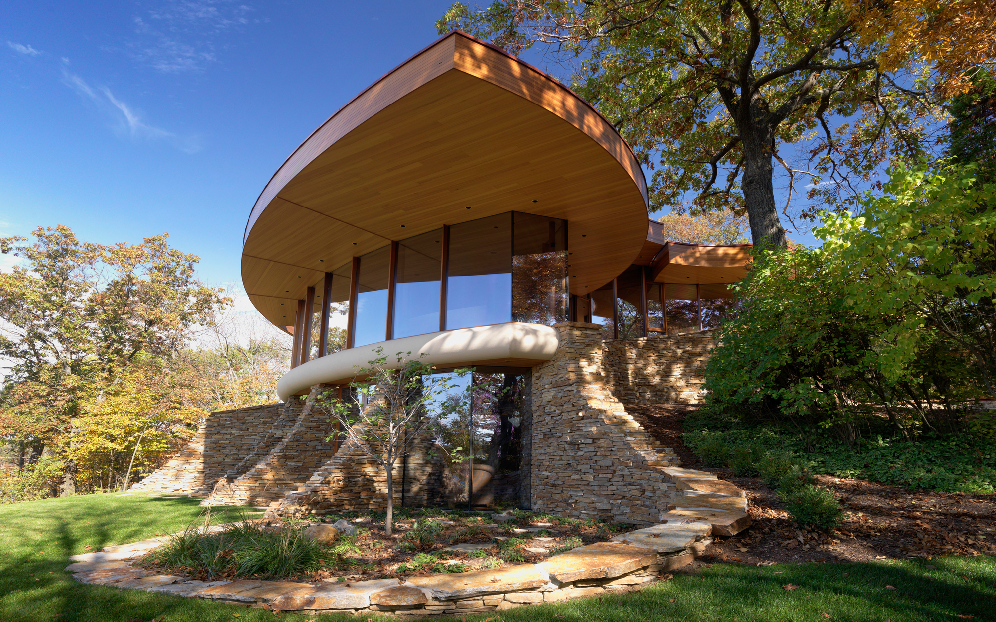 Chenequa Residence / Robert Harvey Oshatz Architect, © Cameron Neilson