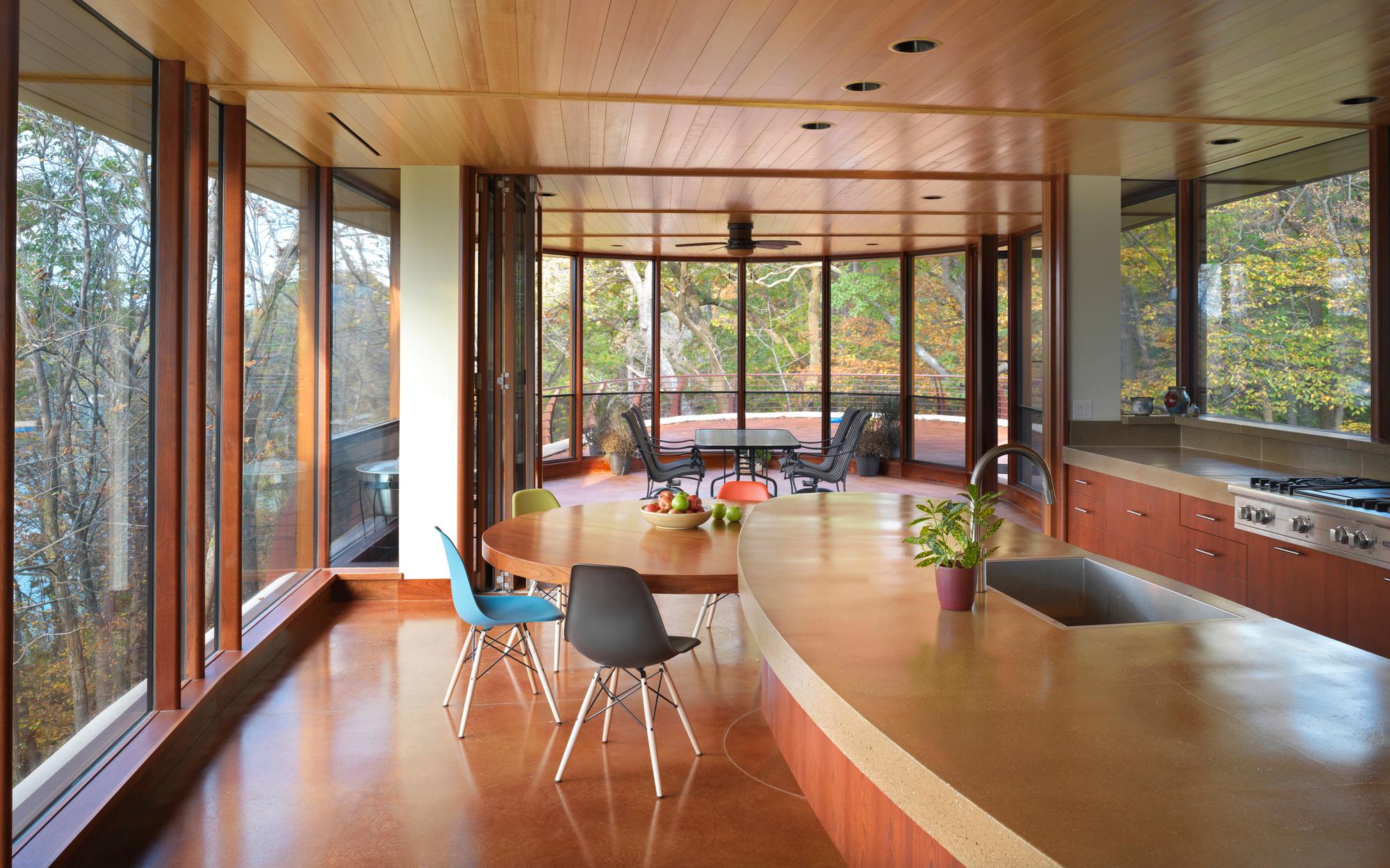 gallery of chenequa residence  robert harvey oshatz architect   - chenequa residence  robert harvey oshatz architect