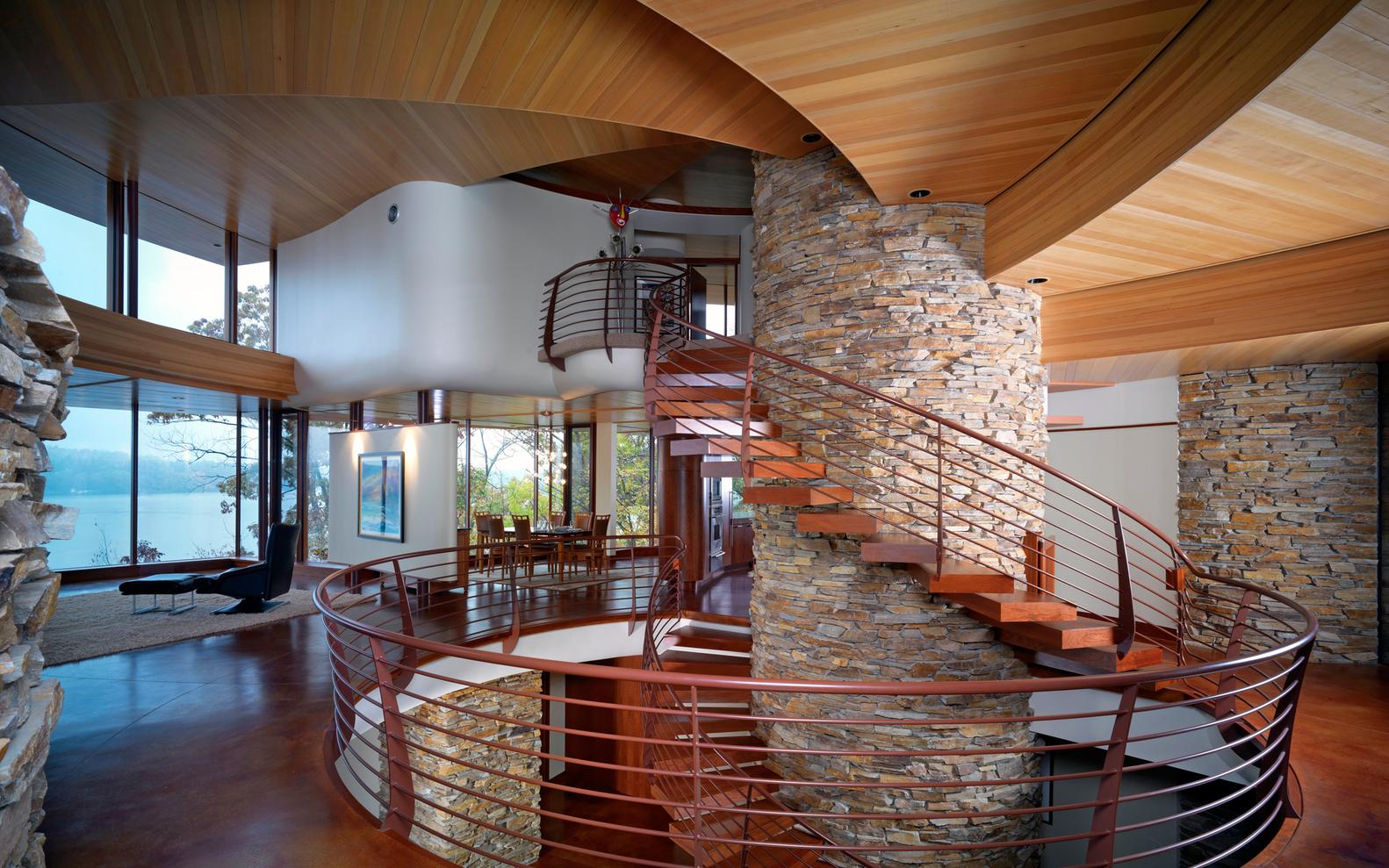 gallery of chenequa residence  robert harvey oshatz architect   -