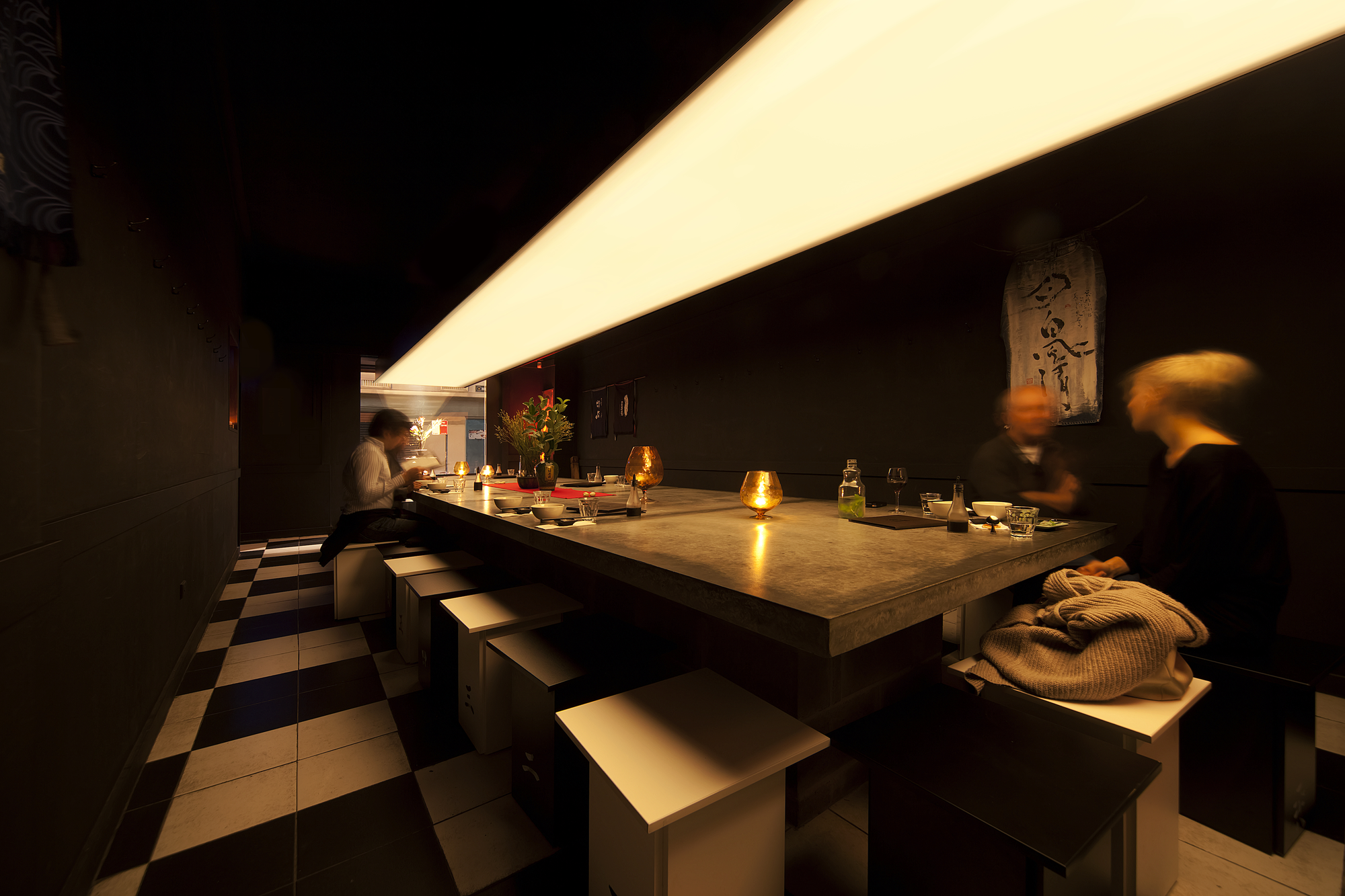 Uchi Lounge 01 / Facet Studio, © Andrew Chung